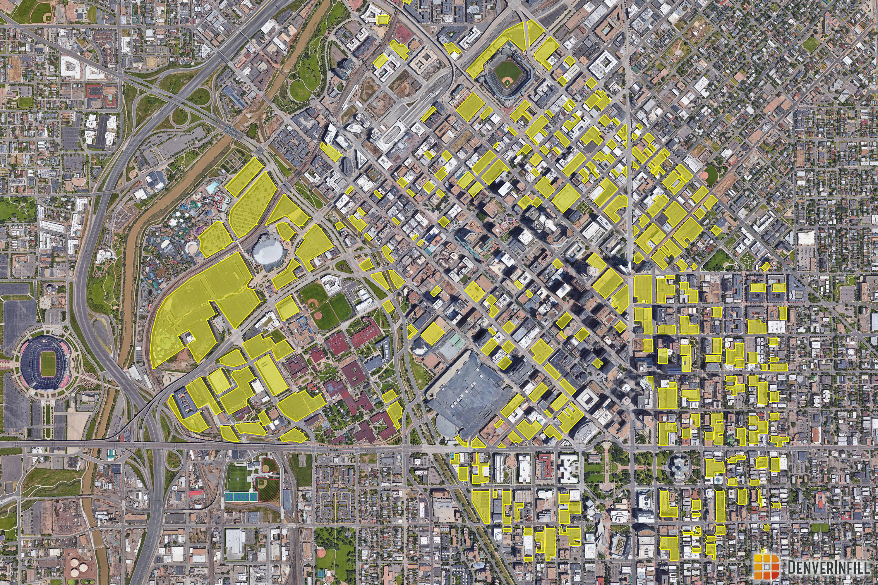 Visualization of Land Devoted to Parking