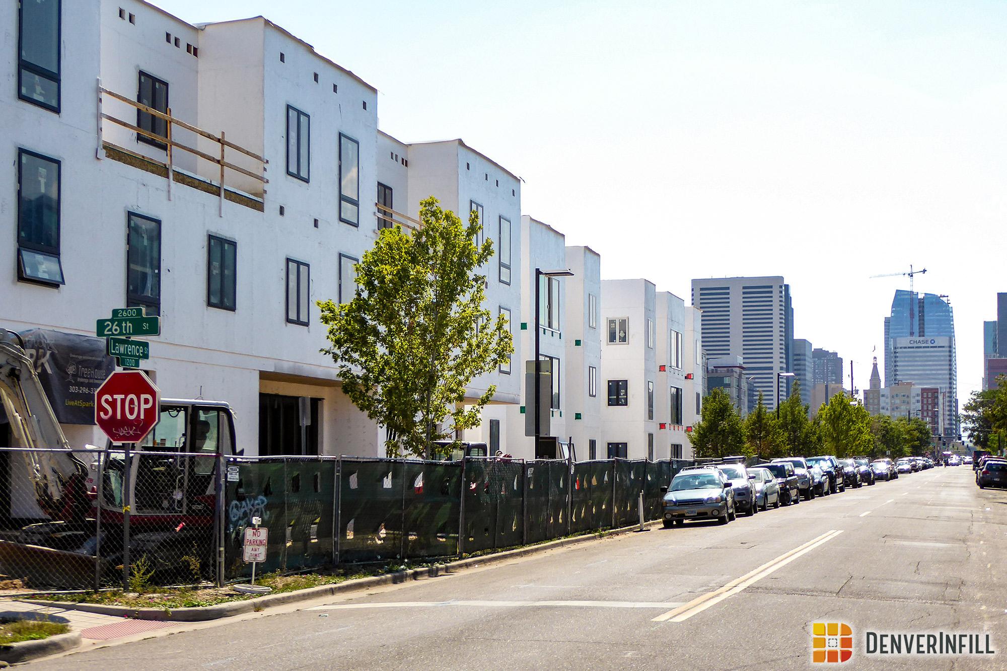 S*Park condominiums along Lawrence Street