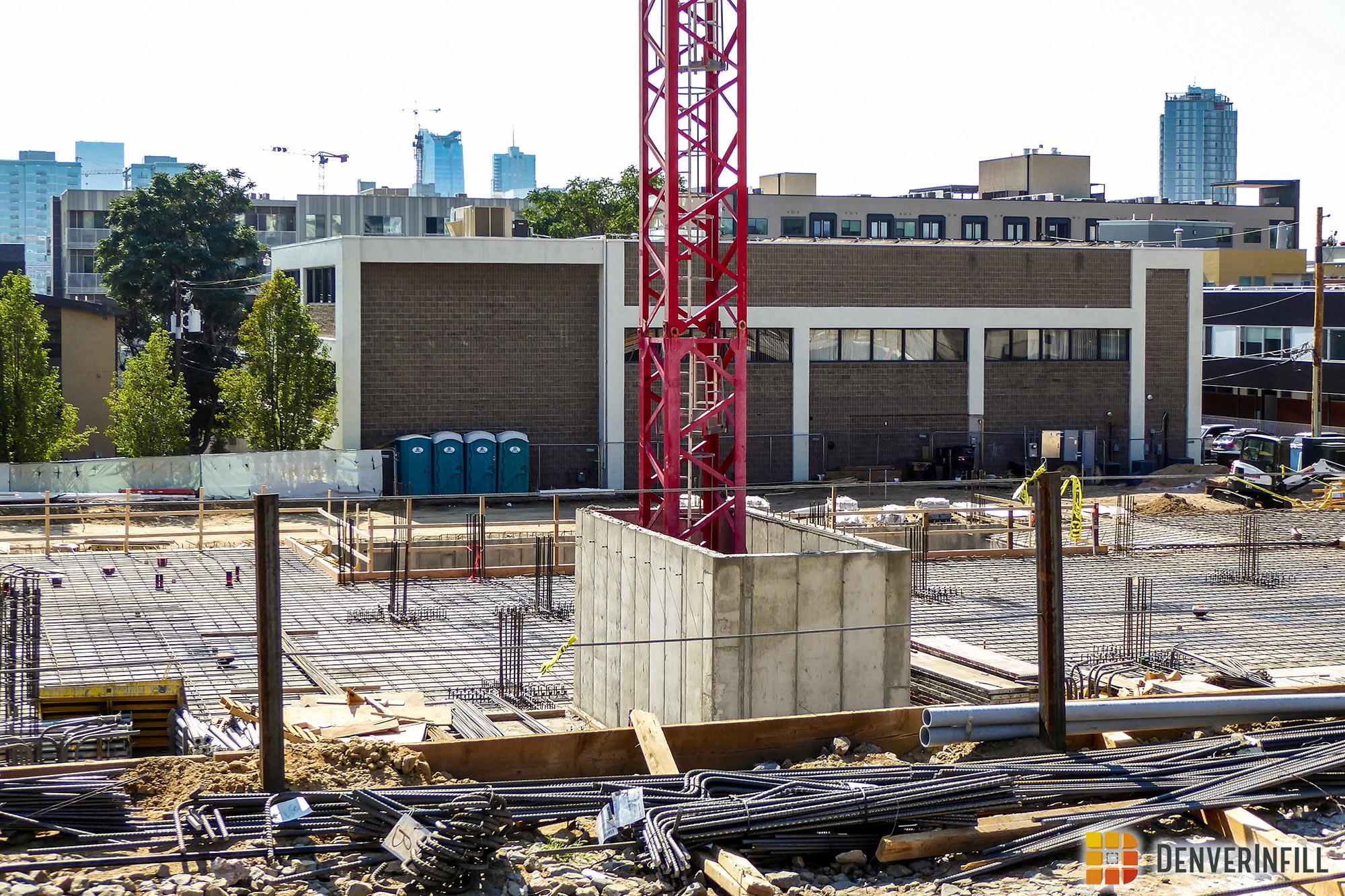 2680 18th Street tower crane base