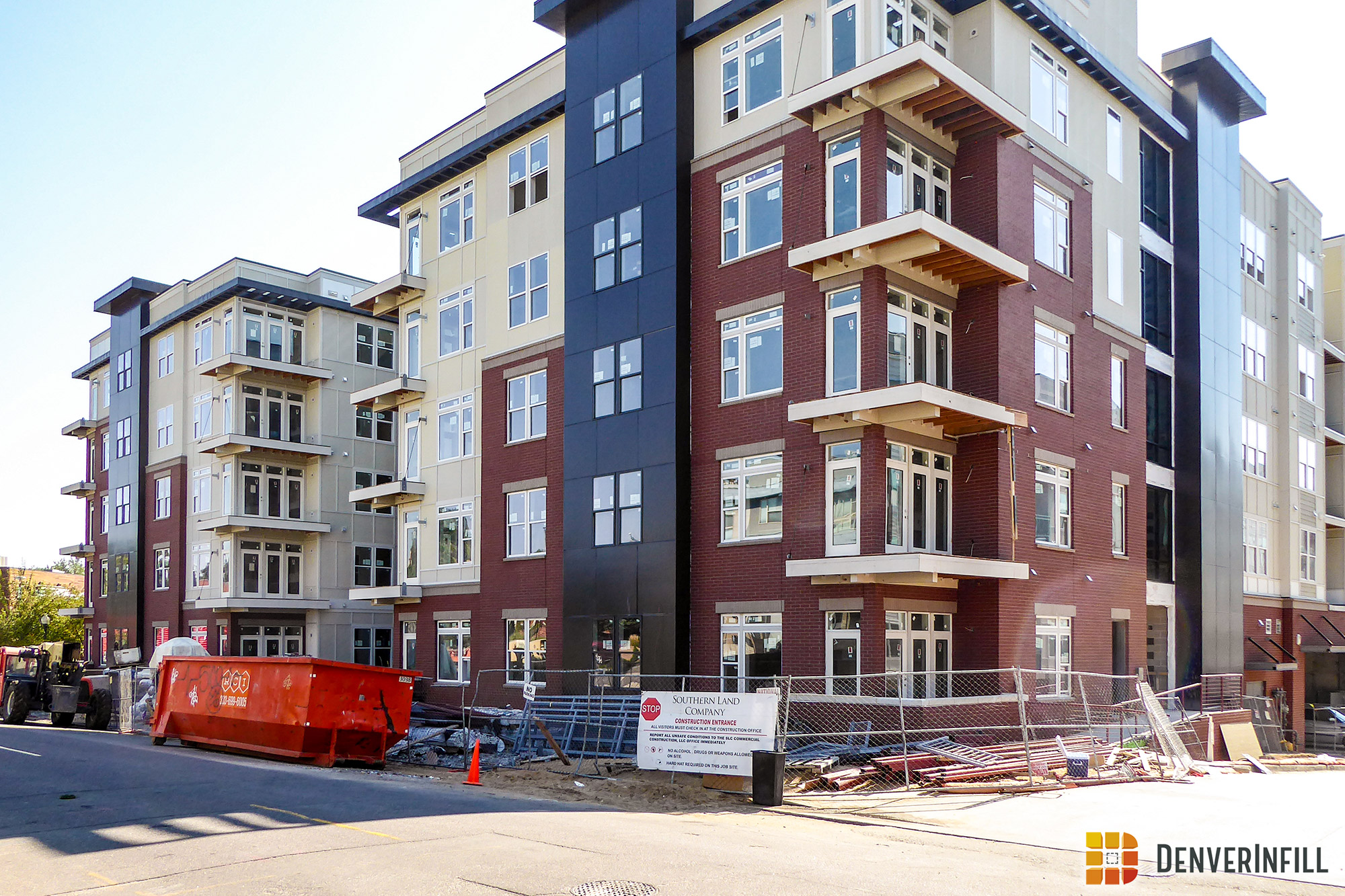 Centric Lohi nearing completion along Boulder Street