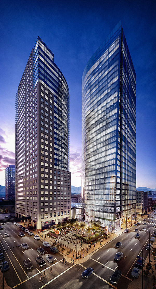 Two Tabor rendering, courtesy of Callahan Capital Properties, Davis Partnership Architects, and Epstein