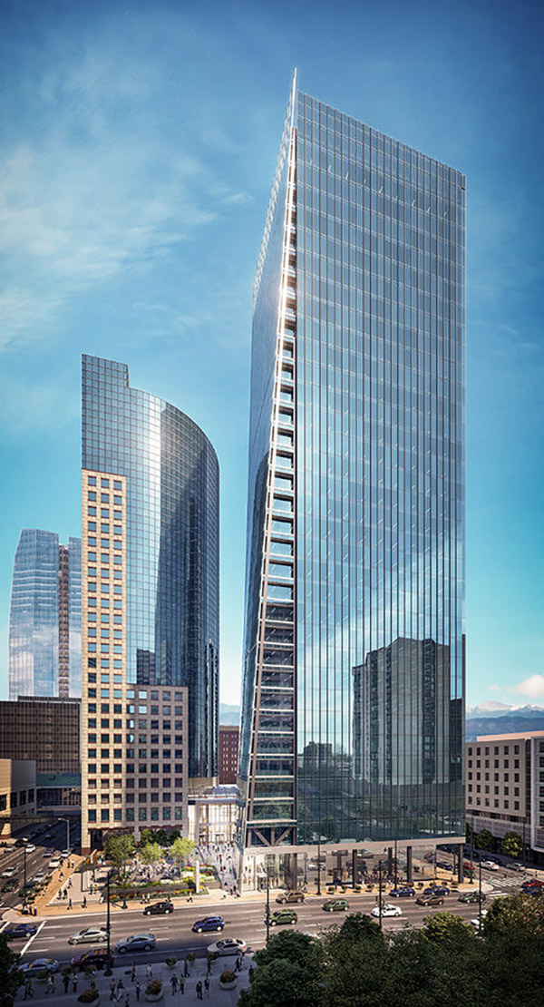 Two Tabor rendering courtesy of Callahan Capital Properties, Davis Partnership Architects, and Epstein