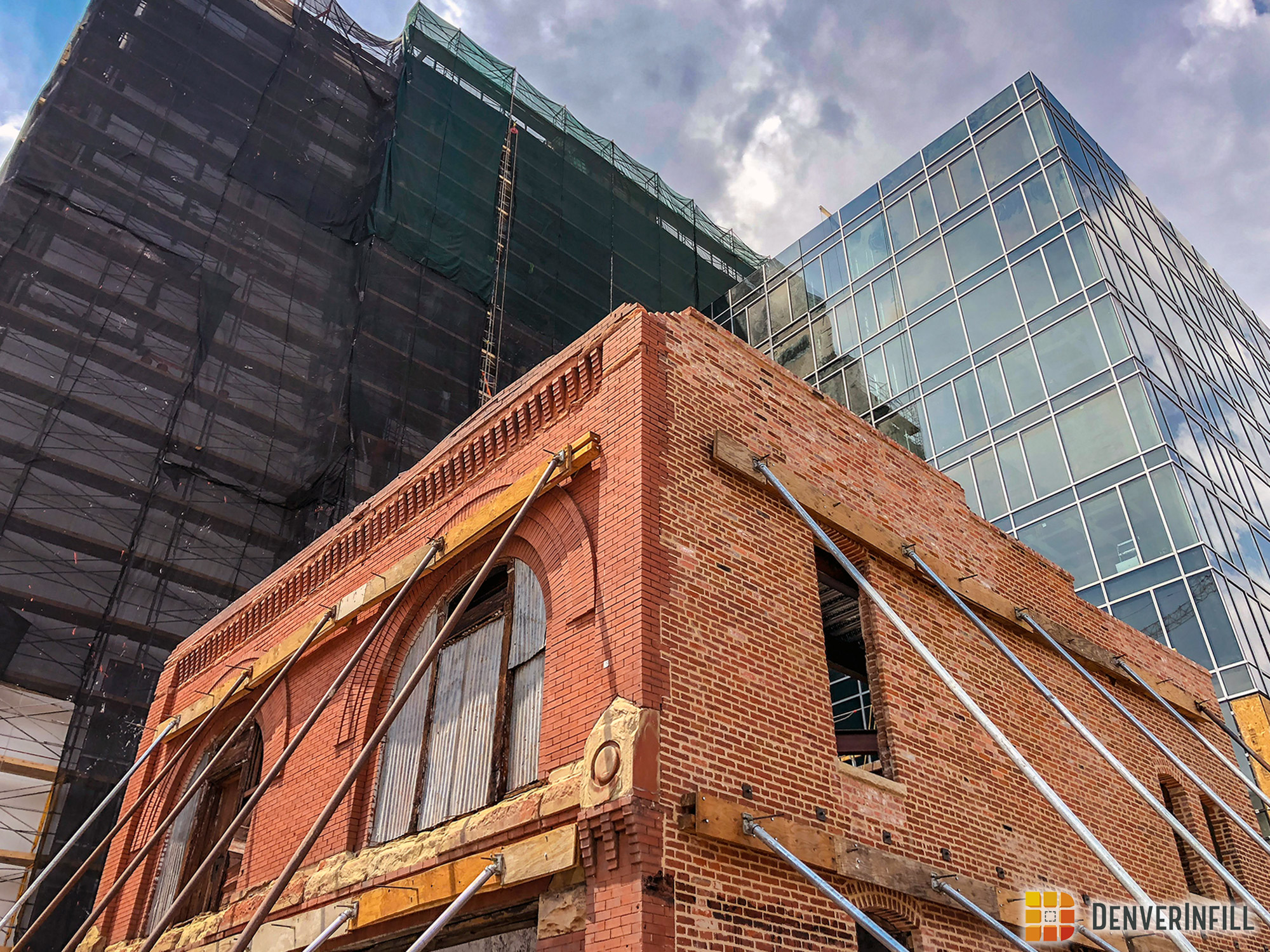 Historic Denver Hose Company No. 1 building as part of the Hilton Garden Inn DUS development