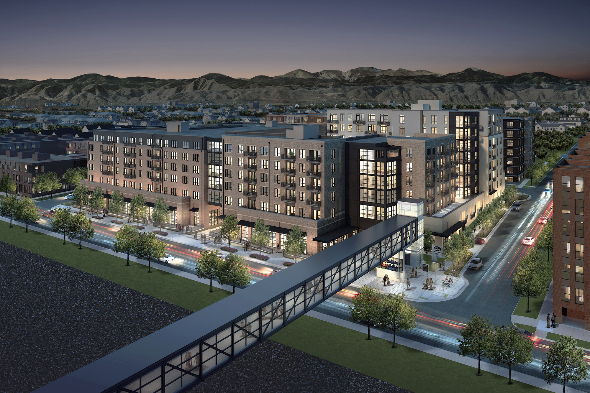 Zia rendering, courtesy of Confluence Companies and Craine Architecture