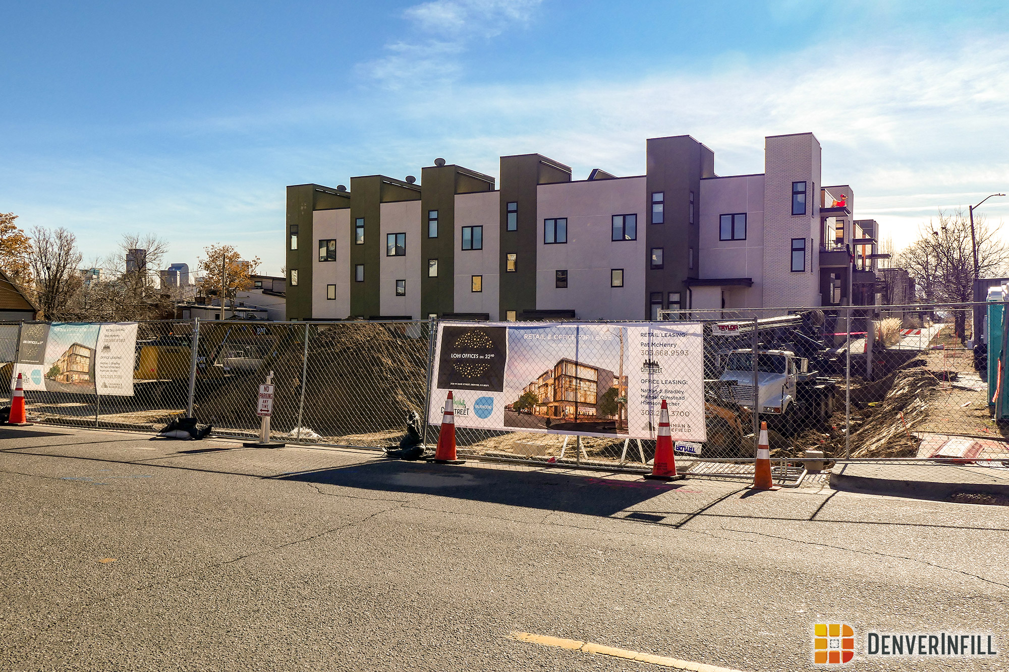 The LoHi Offices on 32nd construction site