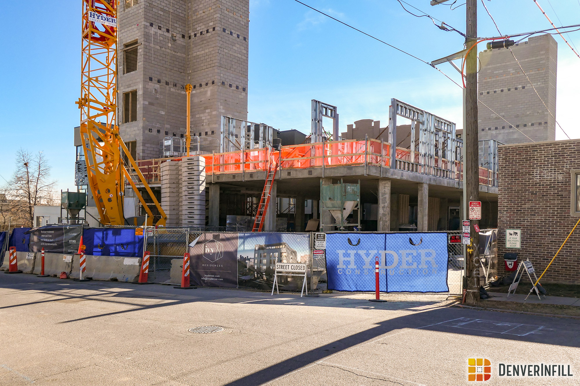 Ivy Residences under construction on West 33rd Avenue