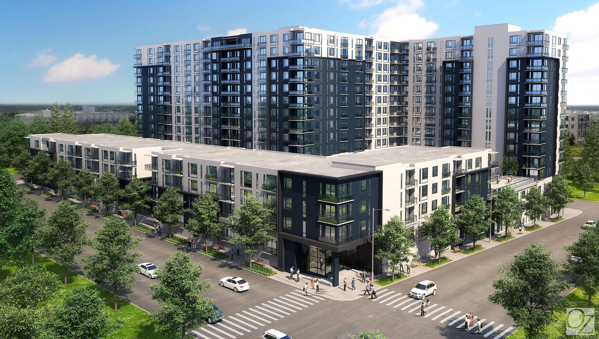 26th and Alcott rendering, courtesy of OZ Architecture