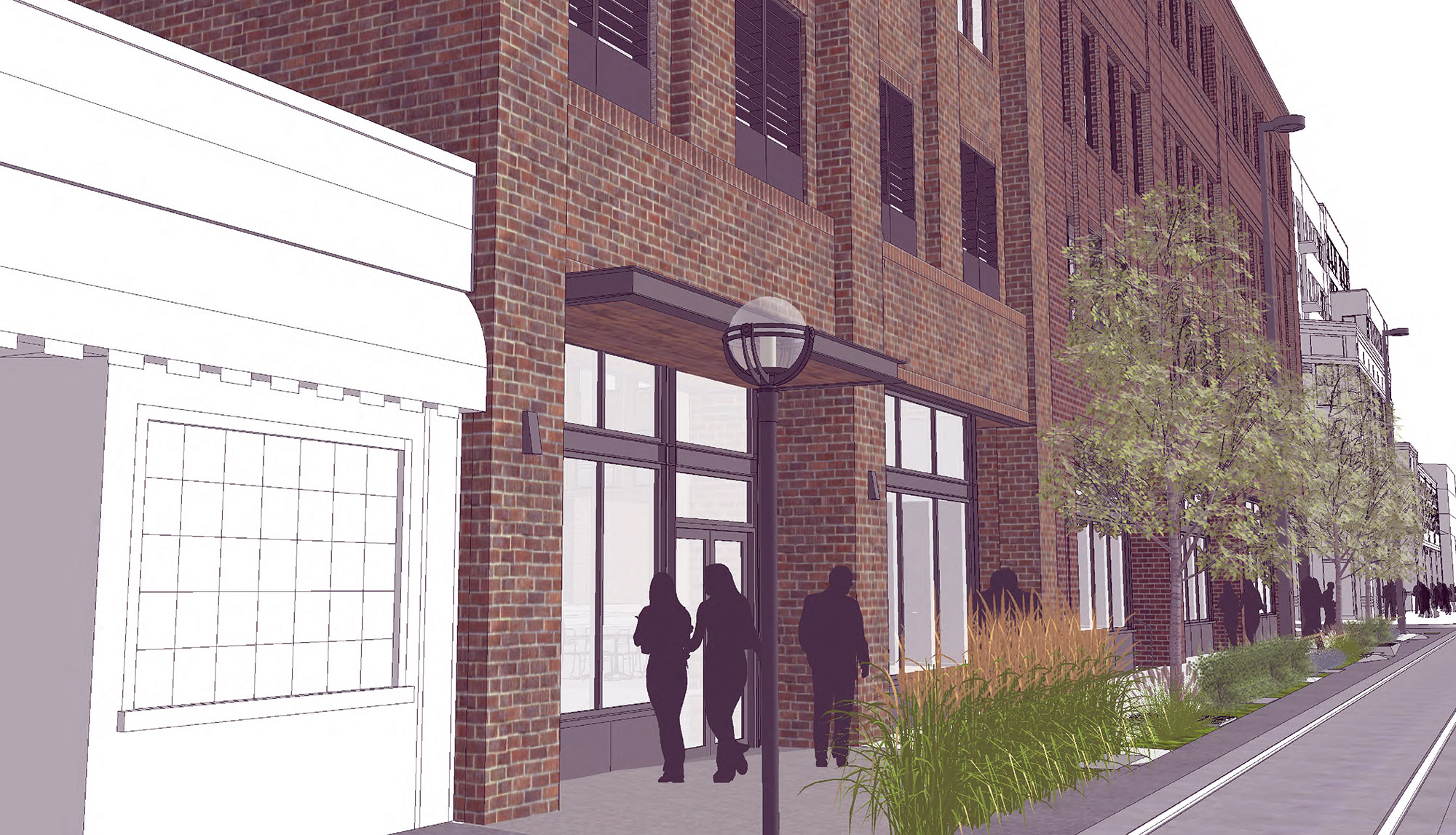 Rendering of 2602 Welton, courtesy of Craine Architecture