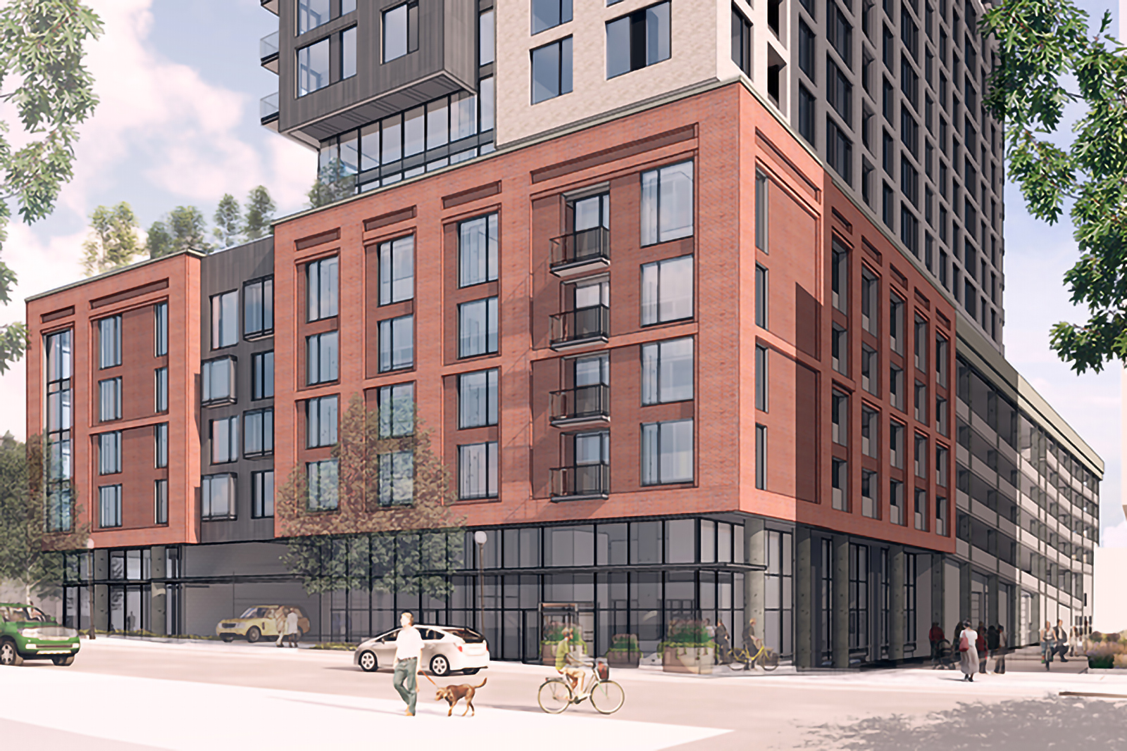 10th and Acoma Rendering