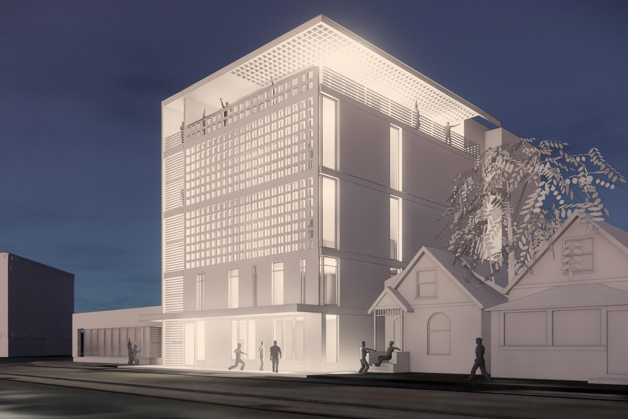 New Project: 3030 Welton Hostel