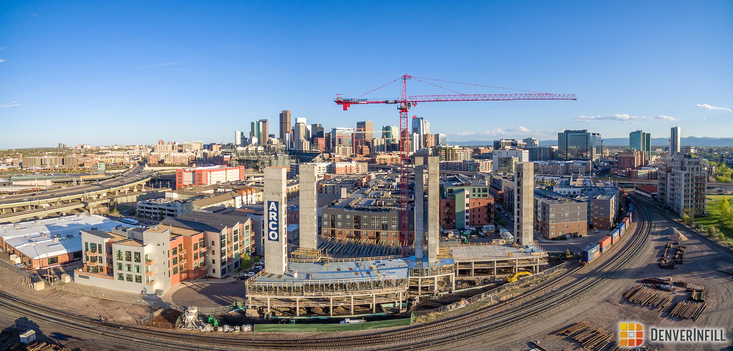 X Denver Aerial Panorama