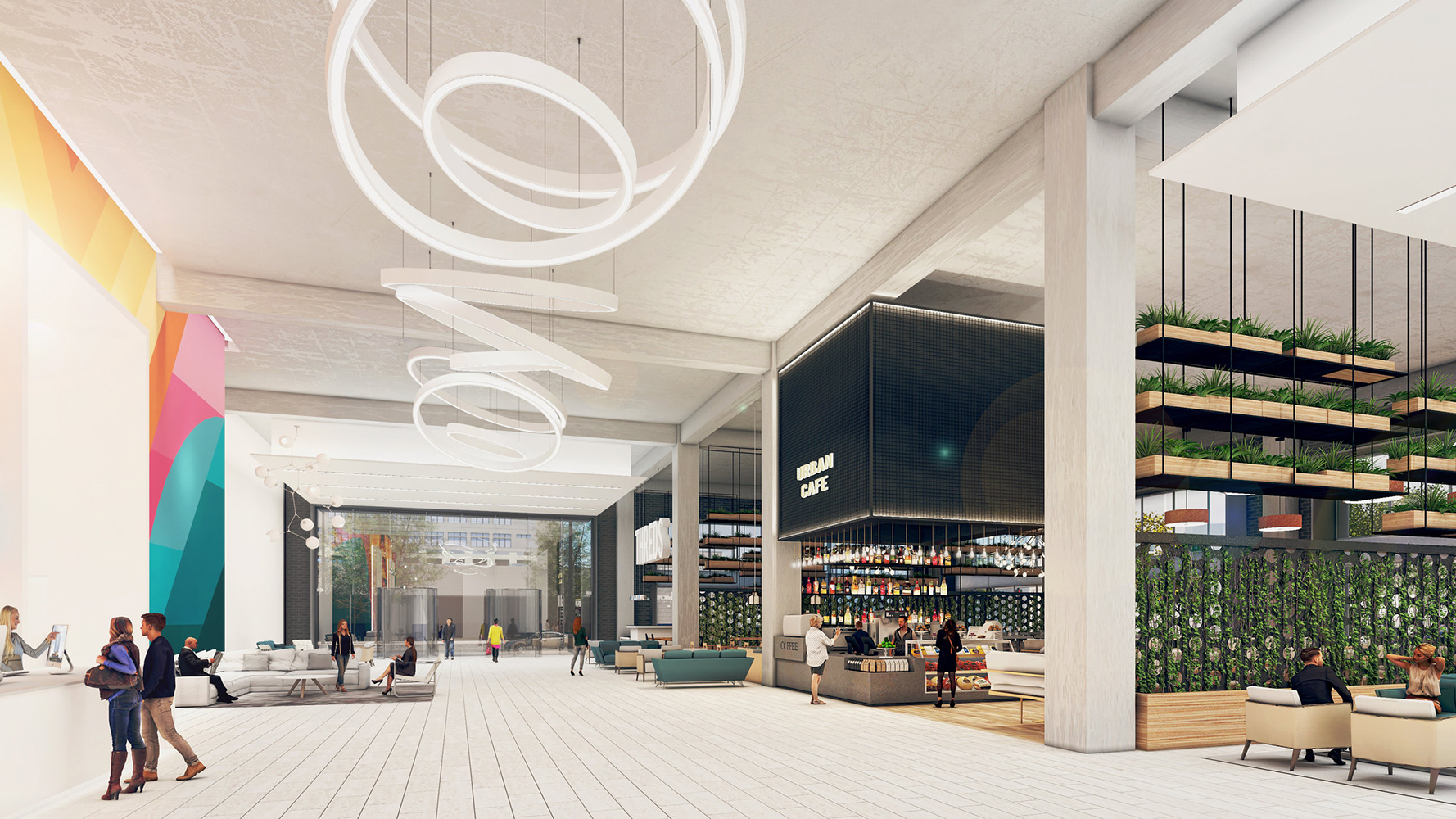 Love This City Tower - Retail Rendering