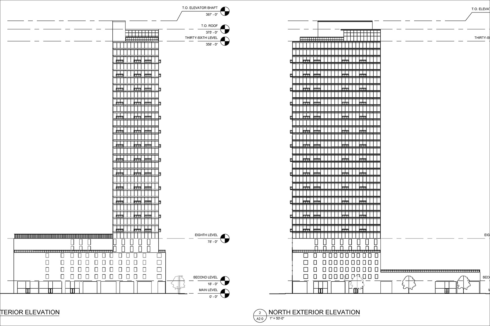 36-Story Tower Planned for 2099 Lawrence