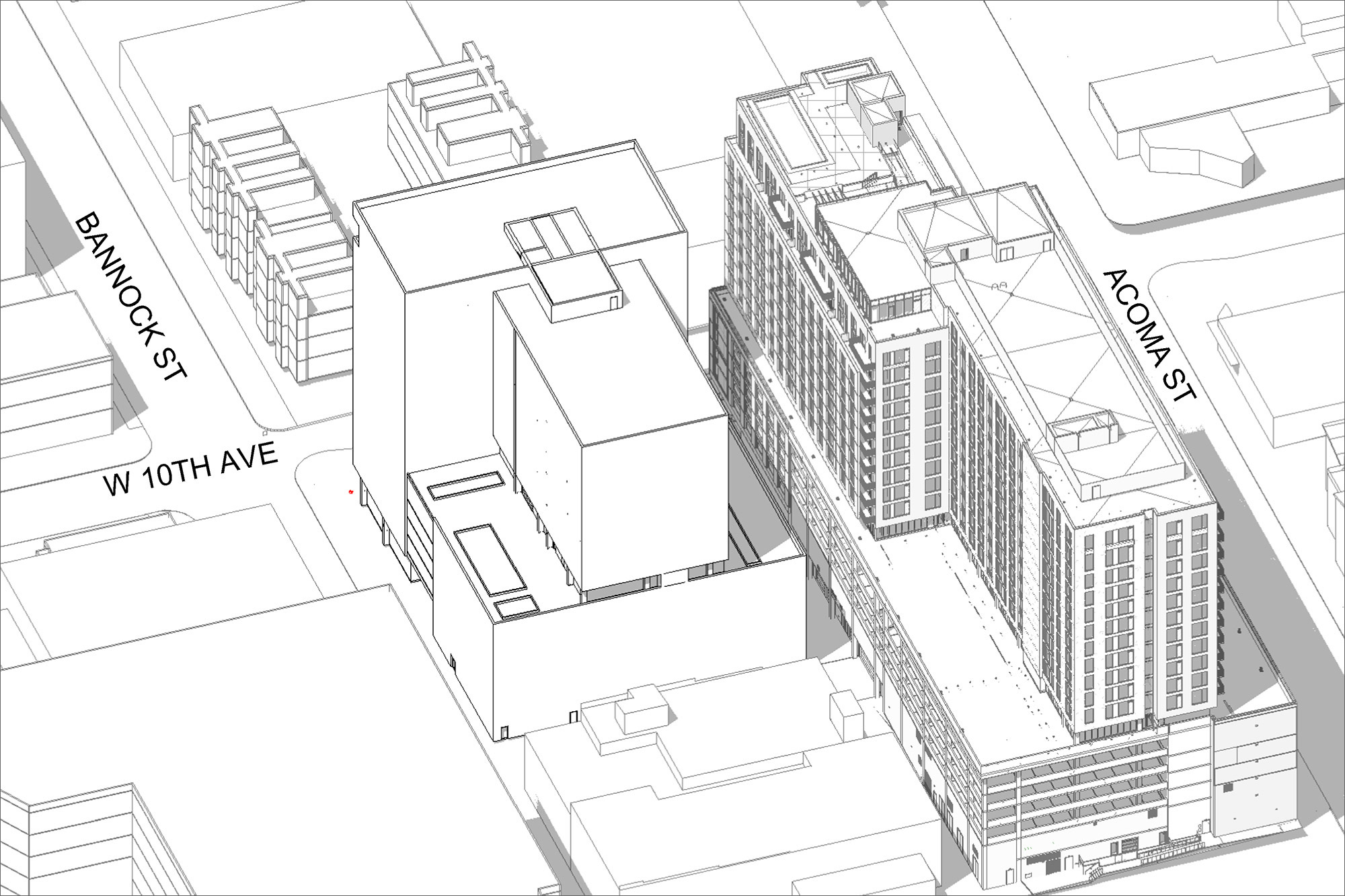 Plans for 990 Bannock Submitted to City
