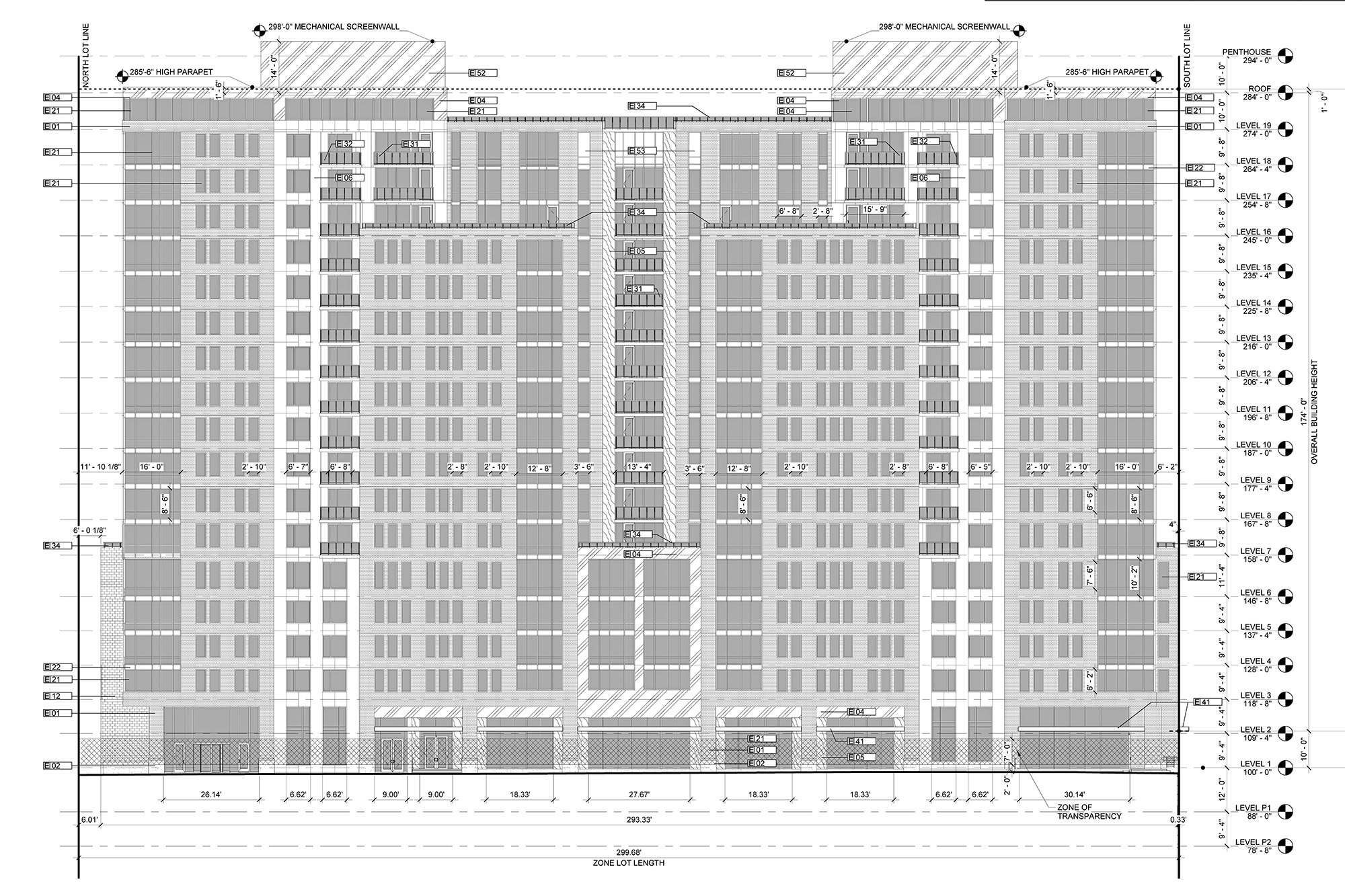 11th and Bannock proposed front facade elevation, courtesy of Davis Partnership