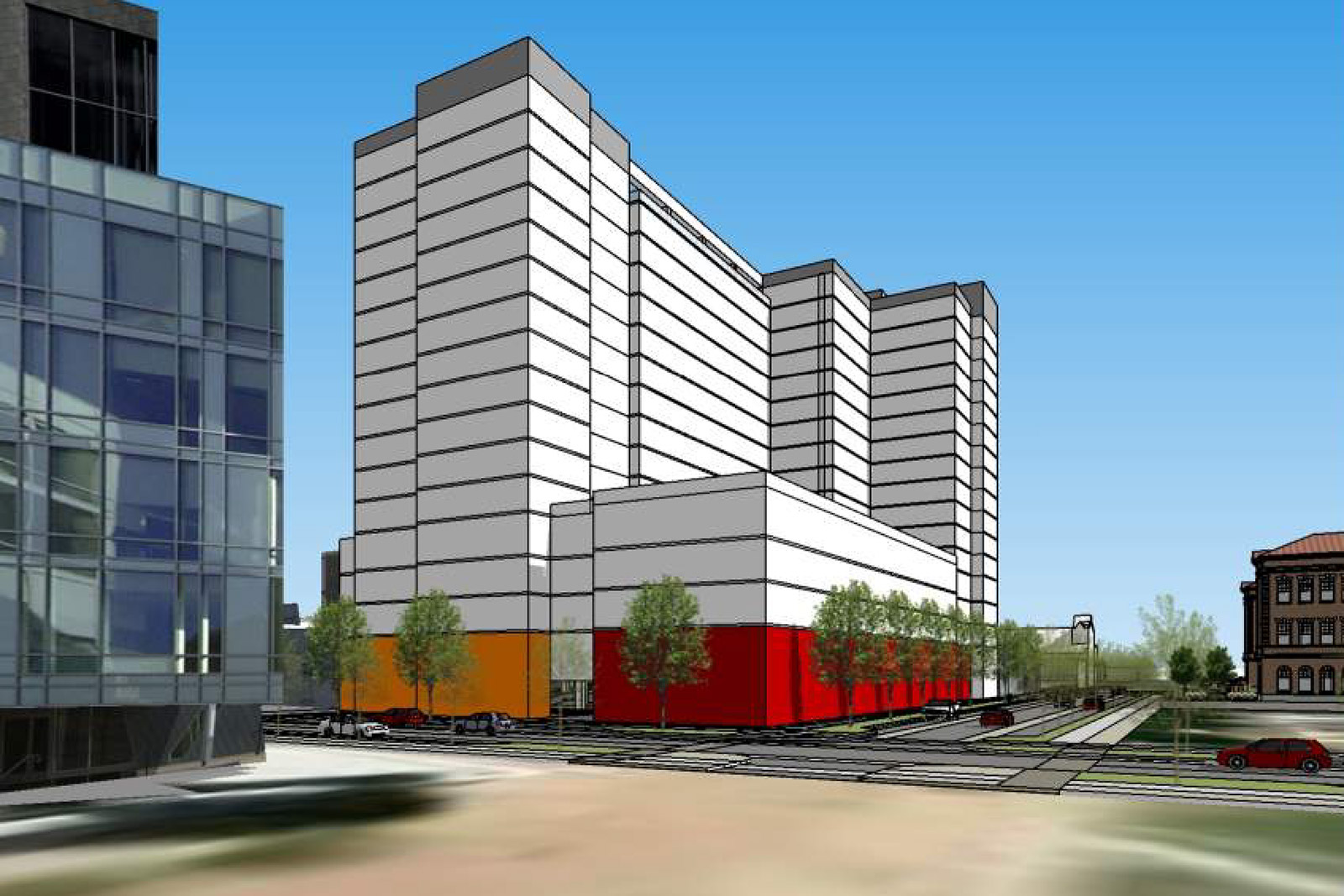 High-Rise Proposed for 12th and Acoma